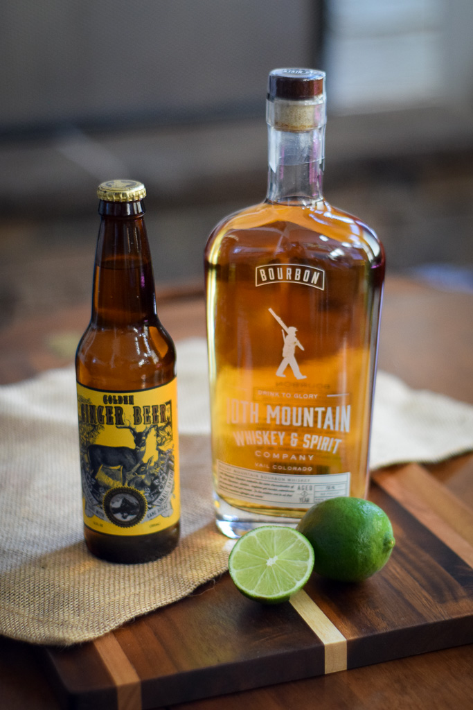 colorado bourbon mule whiskey ginger beer moscow mule