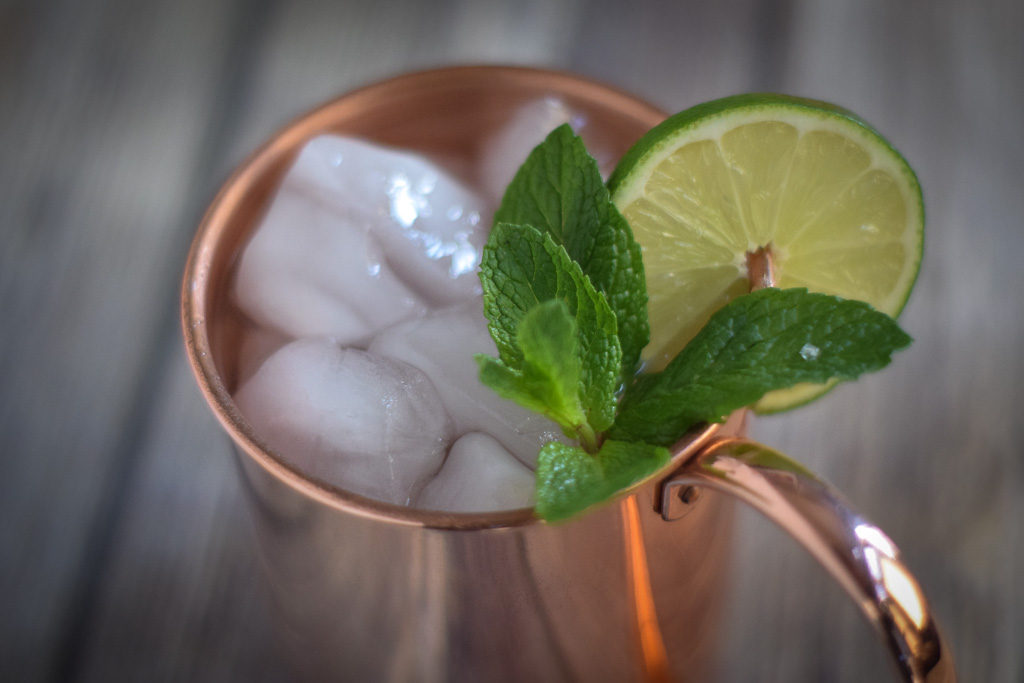 colorado bourbon moscow mule ginger beer